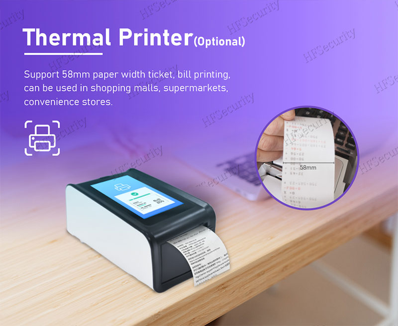 HFSecurity Thermal Health Code Print DEVICE
