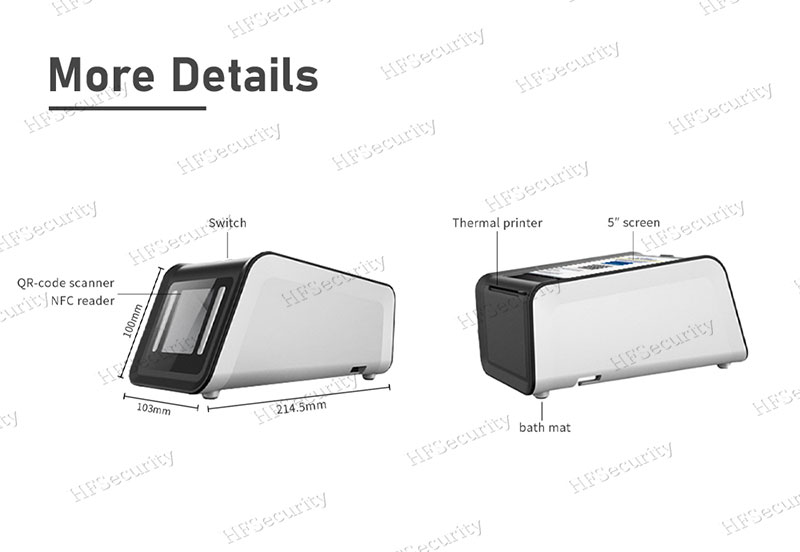 HFSecurity Health Code Scan Device