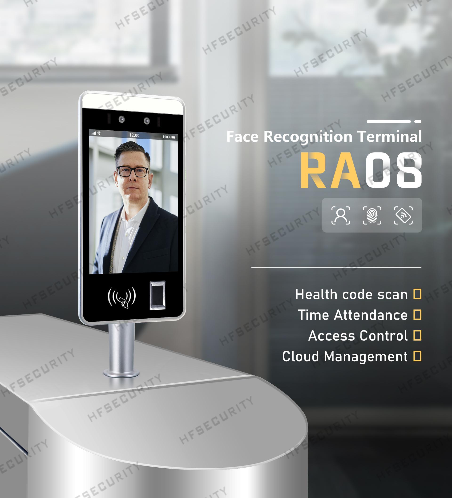 HFSecurity RA08 Face Fingerprint Recognition Device