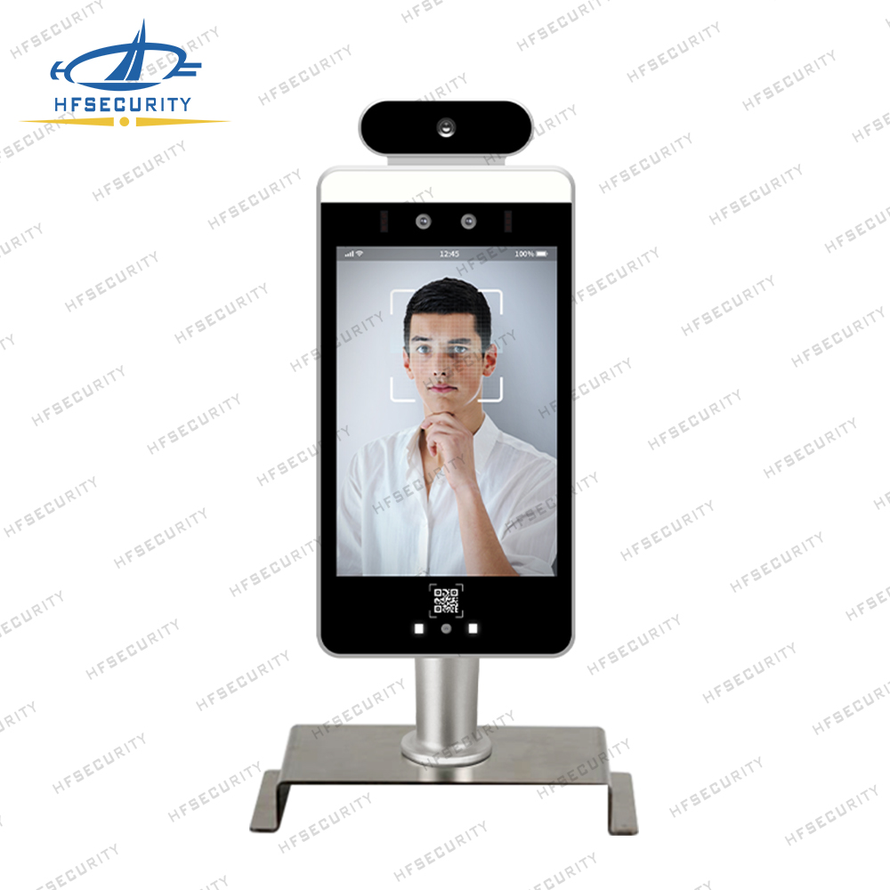 HFSecurity RA08T Face Recognition Temperature Device Solution