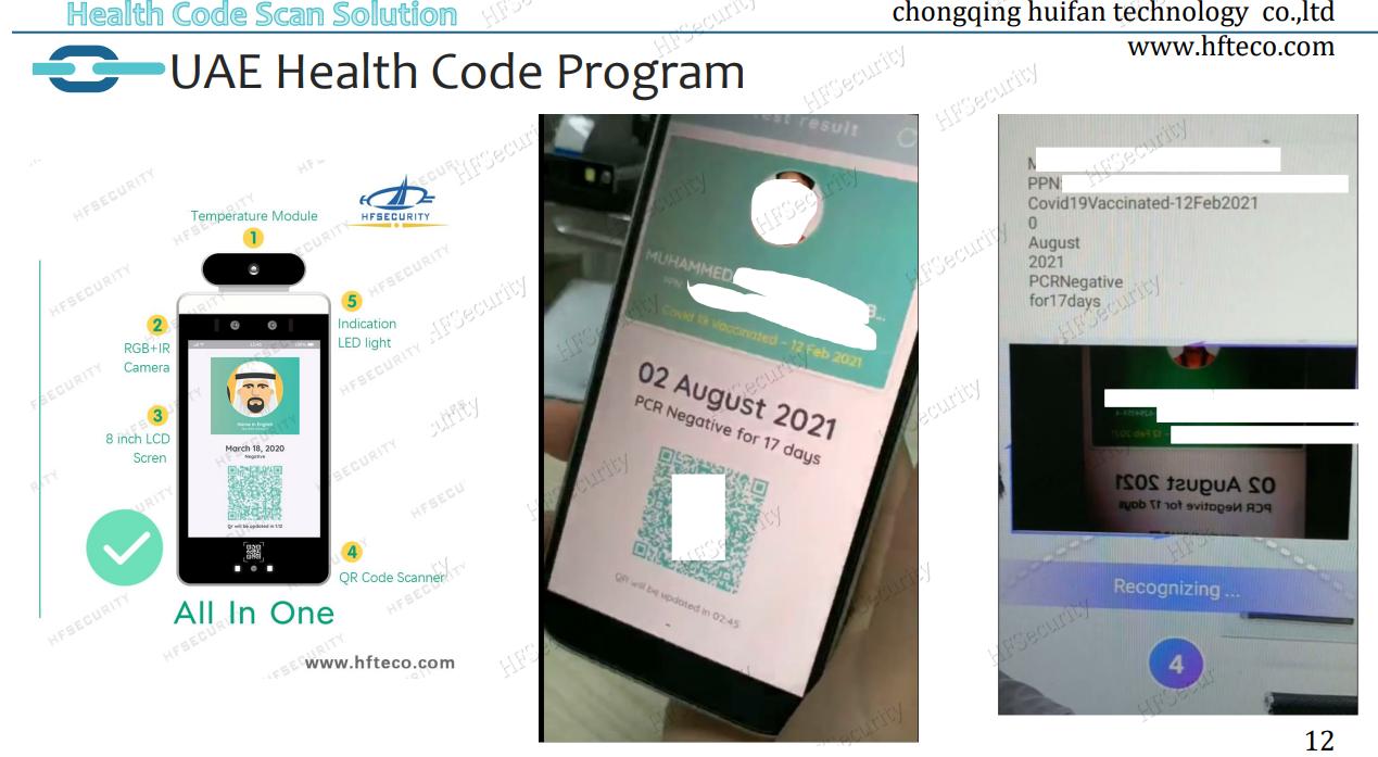 UAE Health Code Program