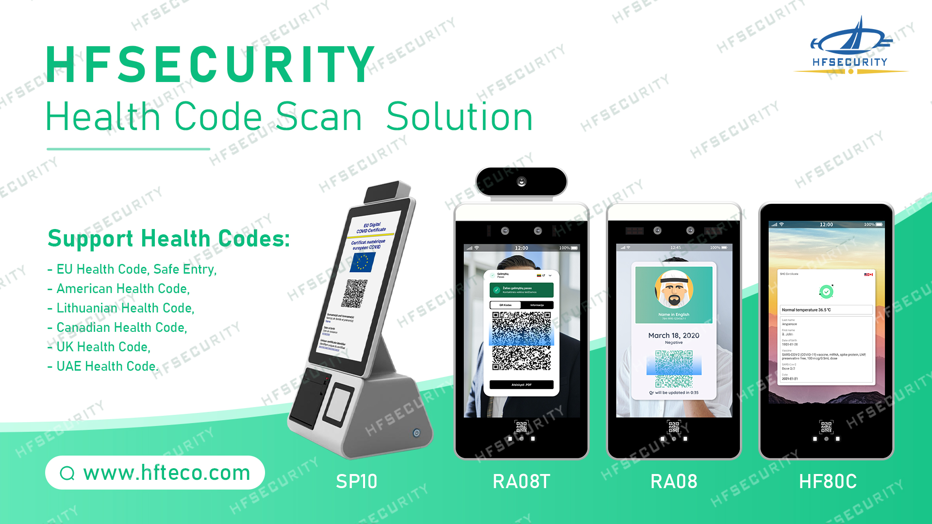 HFSecurity Face Recognition Provider Scanner