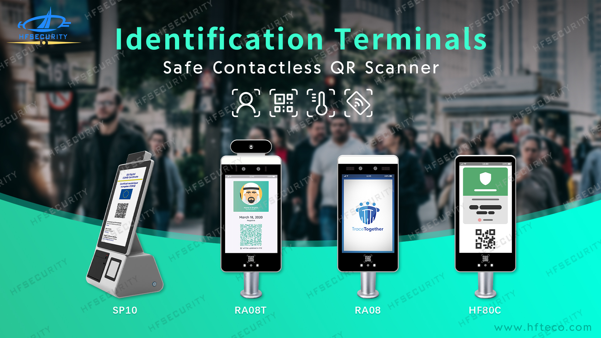 HFSecurity How To Buy Facial Recognition Thermal Scanner