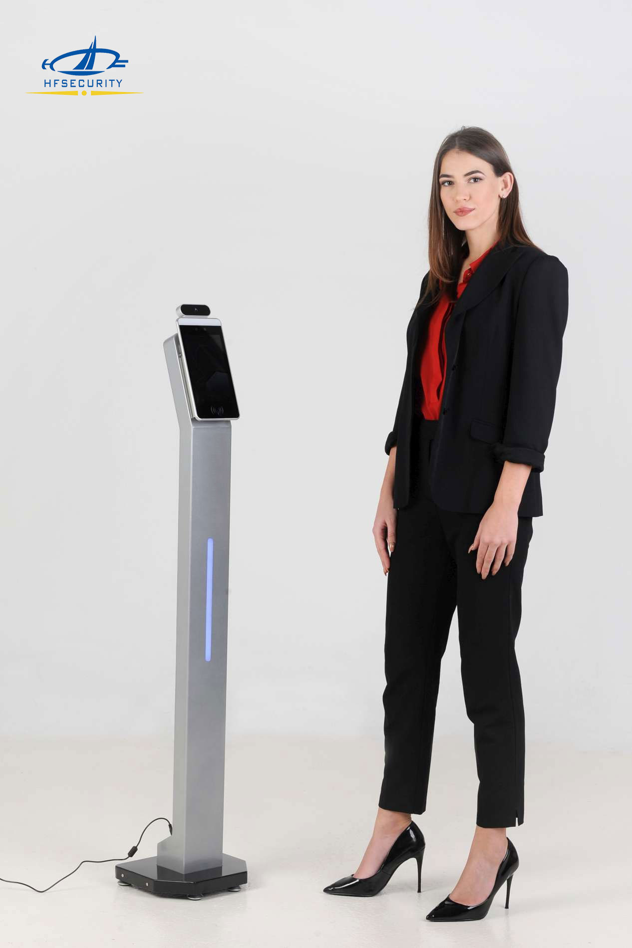 HFSecurity Face Recognition Thermal Scan