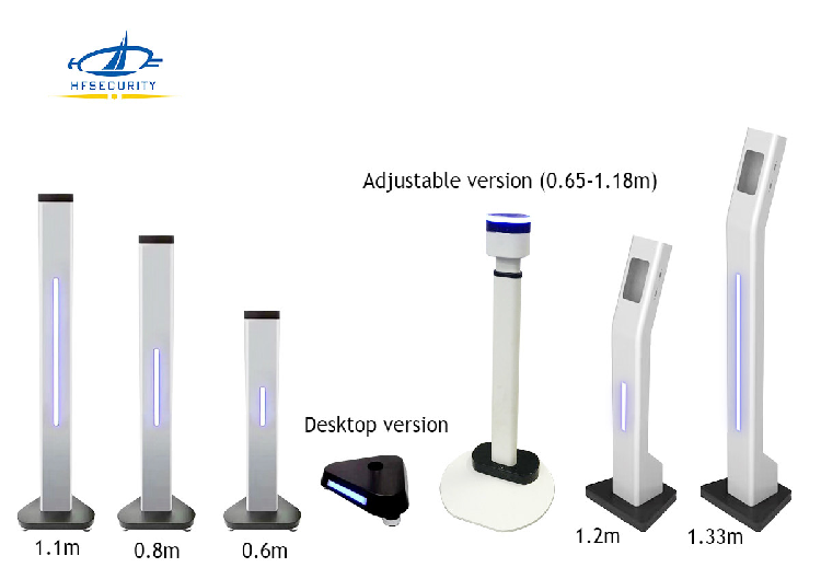 Body Temperature & Facial Recognition Touchless Kiosk