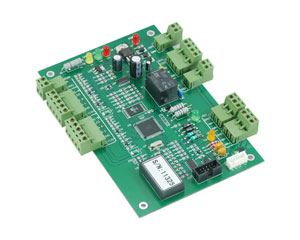 Automatic Gate Multi Doors Access Control Board Bio Serial