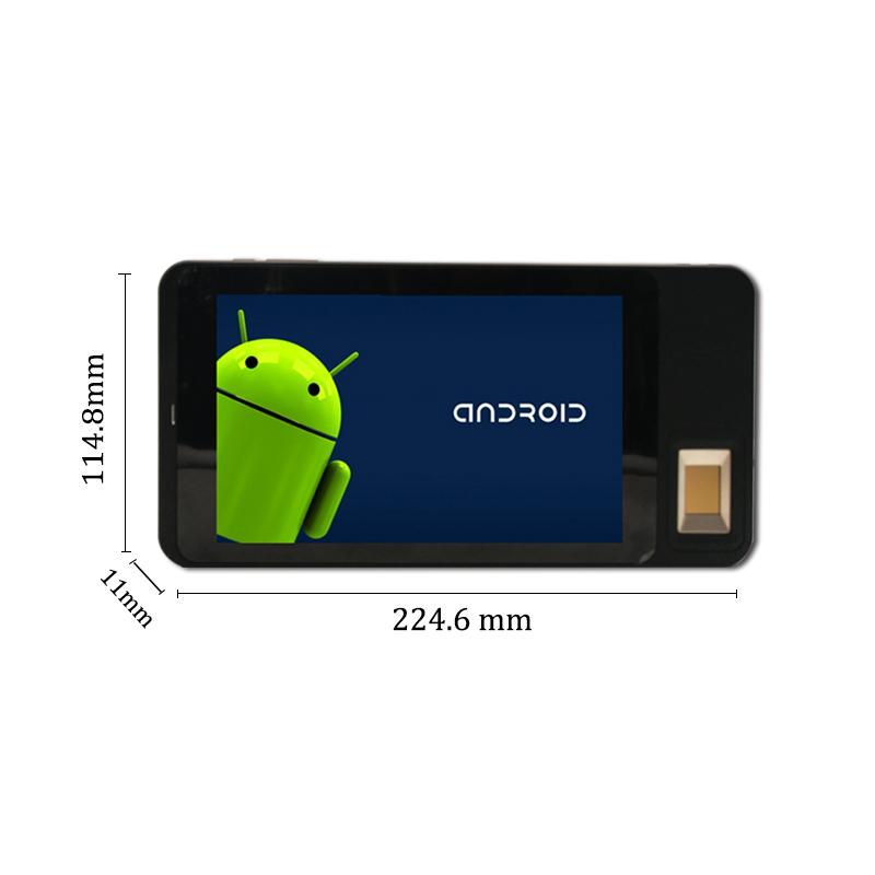 Android Smart Card Reader  FBI Certified Fingerprint Device