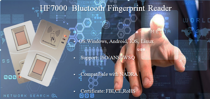 bluetooth Fingerprint Reader