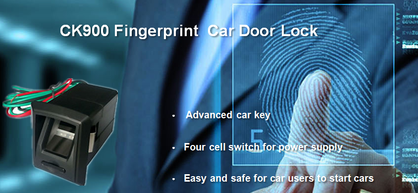 CK900 fingerprint car lock