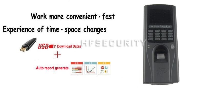 F20 Fingerprint Access Control System