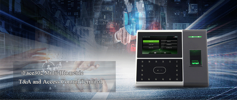 FR302 Fingerprint Time Attendance and Access Control