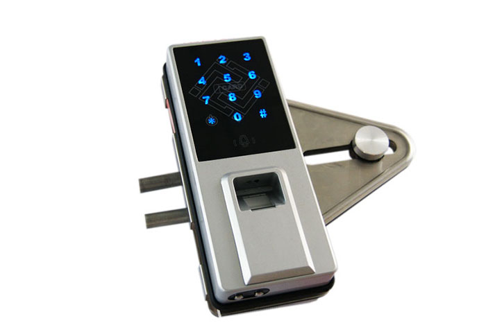 Fingerprint door Lock with OLED Display and USB Interface