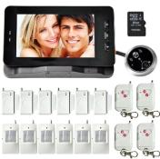 HF-50GAT-1 Electronic Cat Doorbell GSM Remote Monitoring + Alarm Burglar Alarm Doorbell Suit  burglar alarm circuit