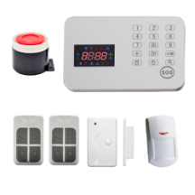 HF-701-GSM Series-GSM alarm phone APP fingerprint door lock for home