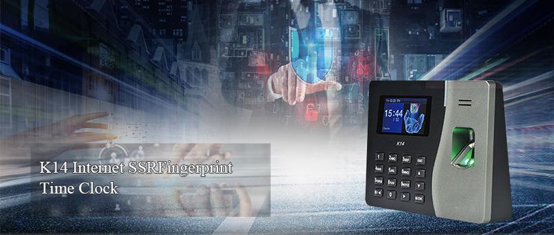 K14 Fingerprint Time Recording