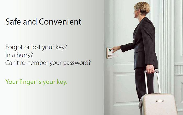 LA100P Smart Biometric Fingerprint Safe Lock