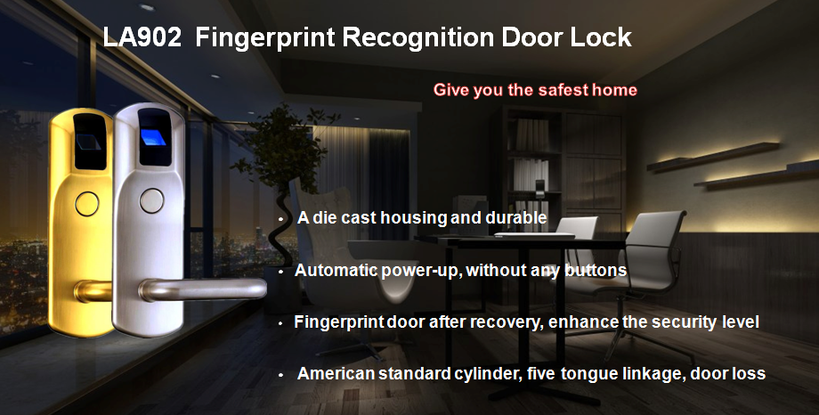 LA902 Fingerprint Door Lock