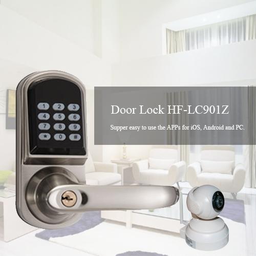 LC901 Z-wave Password Door Look