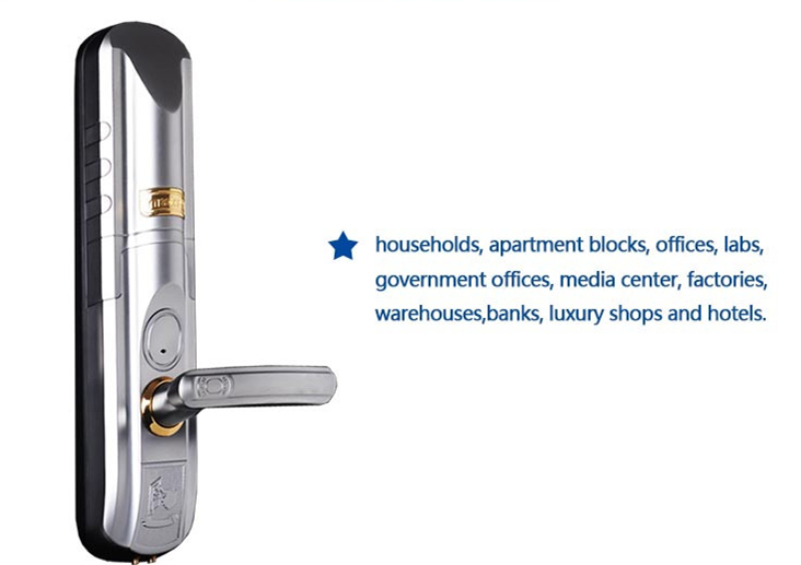 LE211 Waterproof Fingerprint Door Lock Series