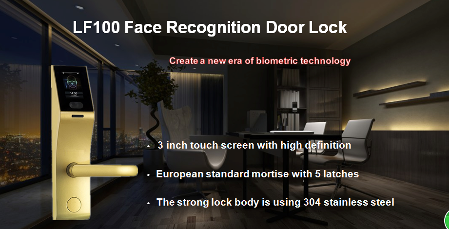 LF100 face door lock