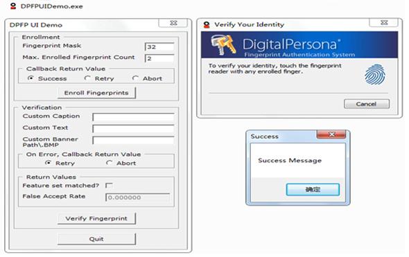Bluetooth Fingerprint Reader