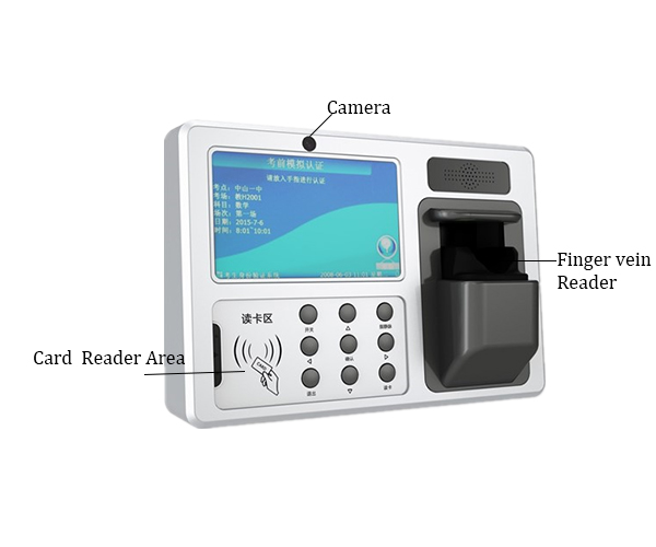 Android Finger Vein Time Attendance and Access Control