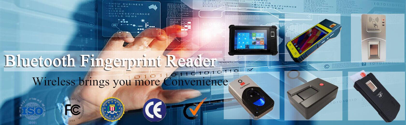 biometric wireless fingerprint reader series
