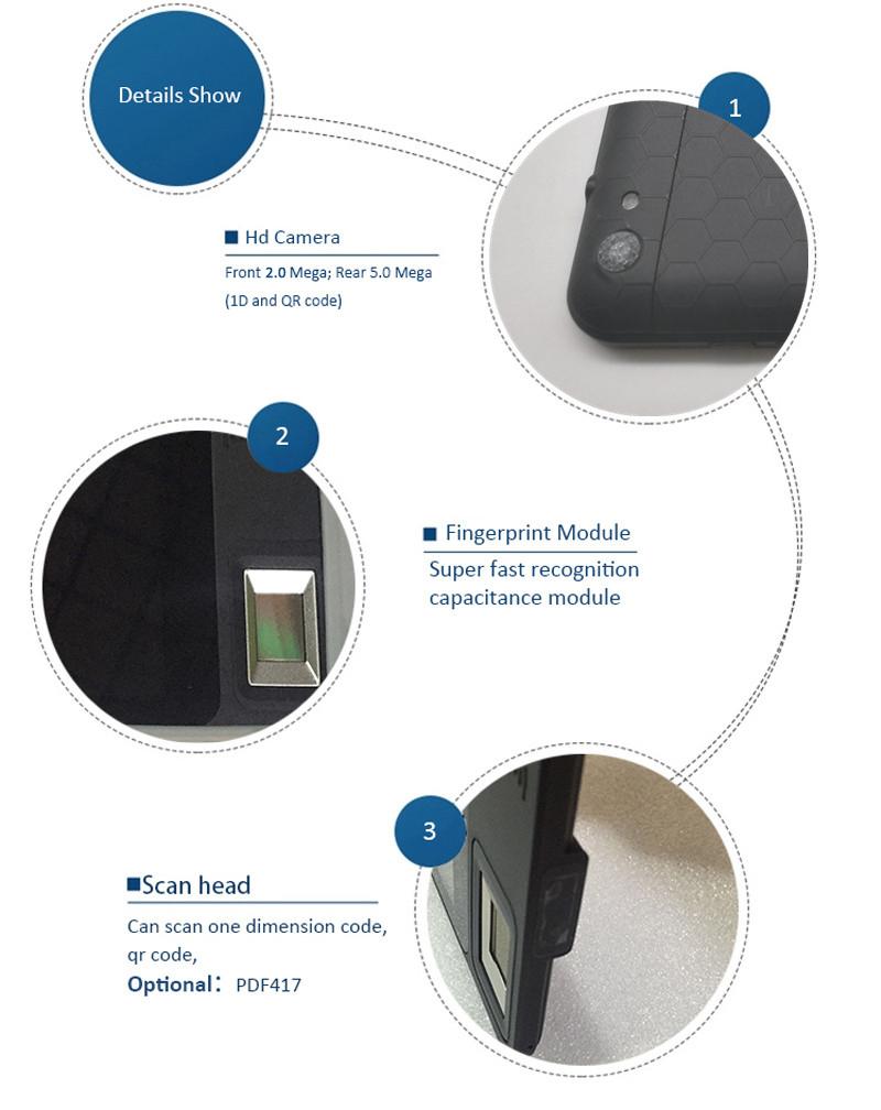 FP07 Android NFC Fingerprint Reader